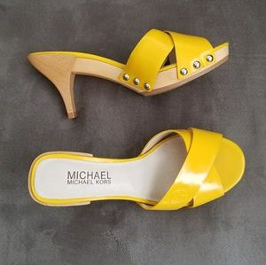NWOT Michael Kors Slides Sandals